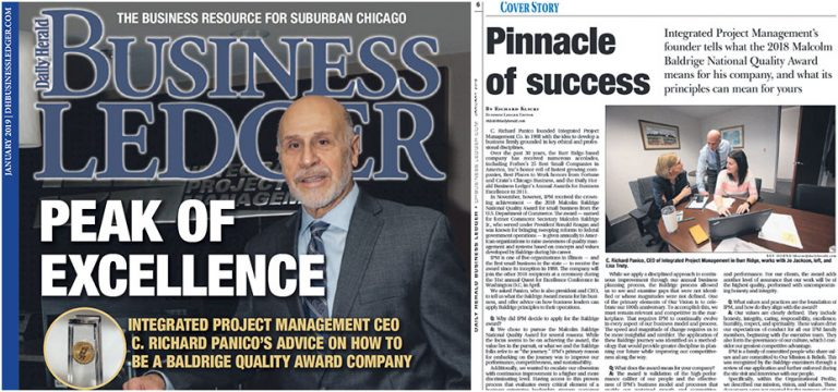 IPM CEO Rich Panico Daily Herald