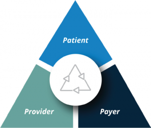 Provider, Patient, Payer
